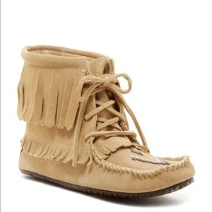 Manitobah • Harvester Suede Moccasin Booties